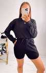 Beverley Cropped Jumper and Shorts Co Ord  Thumbnail