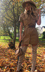 Bex Faux Leather Mini Dress Thumbnail