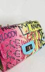 Bexley Graffiti Print Handbag Thumbnail