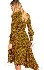Bianca Printed Maxi Frill Dress Thumbnail