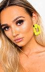 Bianca Statement Drop Earrings  Thumbnail