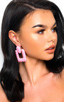 Bianca Statement Drop Earrings  Thumbnail
