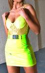 Brandi Neon Lace Bodysuit Thumbnail