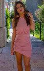 Brendi Slinky Backless Bodycon Dress Thumbnail