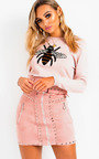 Brit Bee Embellished Crew Jumper  Thumbnail