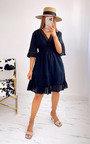 Britt Ruffle Hem Dress Thumbnail