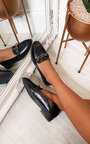 Brogan Faux Leather Flat Loafer Thumbnail
