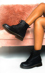 Cadence Lace Up Biker Boots Thumbnail