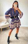 Caitlyn Printed Smock Dress Thumbnail