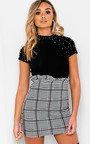 Calla Paperbag Check Skirt Thumbnail