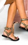 Callie Double Buckle Studded Sandals  Thumbnail