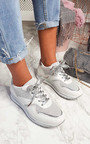 Candy Chunky Sole Glitter Sport Trainer Thumbnail