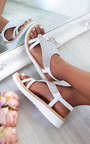 Carlee Diamante Embellished Sandals Thumbnail