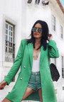 Carris Button Blazer Dress Thumbnail
