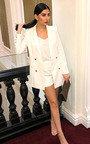 Carris Gold Button Blazer Dress Thumbnail