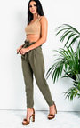 Carris Paperbag Tie Tailored Trousers Thumbnail