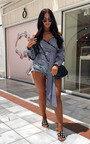 Cassia Gingham Wrap Blouse  Thumbnail