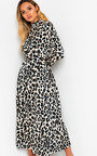 Cassie Printed Belted Maxi Dress Thumbnail