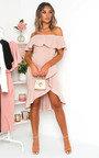Cat Off Shoulder Bodycon Midi Dress Thumbnail