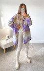 Catherine Chunky Knitted Shirt Jacket Thumbnail
