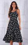 Cecilia Floral Midi Dress Thumbnail