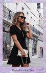 Chanel Frayed Knit Dress Thumbnail