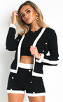 Charlene Button Detail Jacket and Shorts Co-Ord  Thumbnail