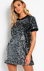 Charli Sequin T-Shirt Mini Dress Thumbnail
