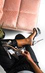 Chastity Platform Perspex Heels Thumbnail