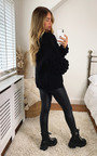 Cher Puff Sleeve Knitted Cardigan Thumbnail