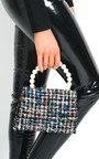Chey Tweed Pearl Handle Mini Bag Thumbnail