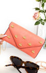 Chlo Bee Embellished Envelope Clutch Bag Thumbnail
