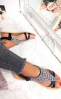 Chloe Diamante Embellished Sandals  Thumbnail