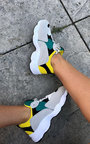 Ciara Chunky Arched Sport Trainer Thumbnail
