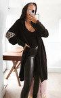 Ciara Longline Hooded Cardigan Thumbnail