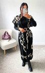 Ciara Sleeveless Longline Cardigan & Dress Co-Ord Thumbnail