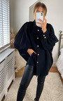 Cindy Oversized High Neck Shirt  Thumbnail