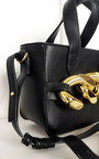 Claire Faux Leather Bag with Extreme Chain Detail Thumbnail
