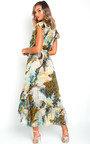Clara Chiffon Wrap Maxi Dress Thumbnail