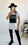 Coco Slogan T-shirt Thumbnail