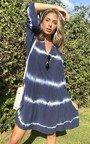 Colette Tie Dye Layered Shift Dress Thumbnail