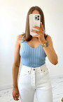 Colleen Knitted Vest Top Thumbnail