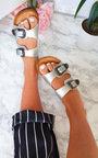 Cori Double Buckle Slip On Sandals  Thumbnail