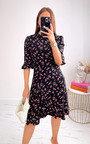 Cori Floral Ruffle Dress Thumbnail