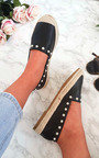 Cori Pearl Studded Espadrille Sandal  Thumbnail