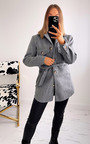 Courtney Belted Jacket with Button Detail Thumbnail