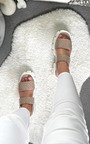 Cyrell Quilted Chunky Sandals Thumbnail