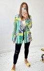 Dahlia Printed Blazer Jacket Thumbnail
