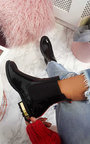 Daina Patent Ankle Boots Thumbnail