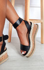 Daisy Strappy Platform Sandals  Thumbnail